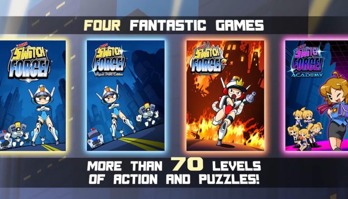 Mighty Switch Force! Collection – Launch Trailer