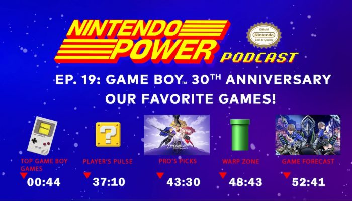 Nintendo Power Podcast Ep. 19 – Game Boy 30th Anniversary: Our Favorite Games!