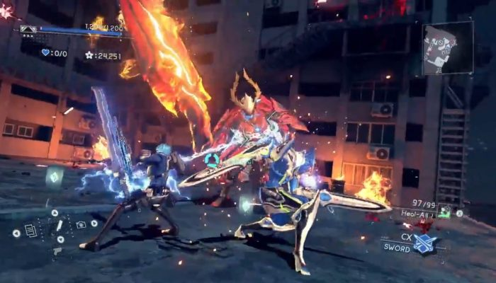 Introducing a month full of Astral Chain gameplay on Nintendo of America's Twitter
