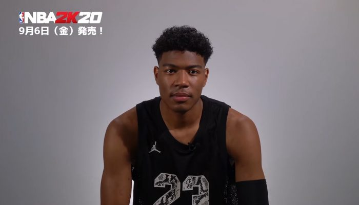 NBA 2K20 – Japanese Comment from Rui Hachimura as Japan Official Ambassador for the game