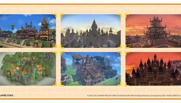 Bond with the Dragon Quest Builders 2 community in the Builders' Gallery
