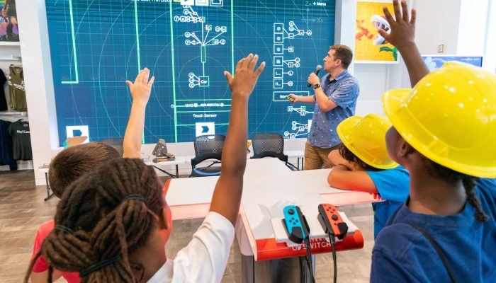 Photos of the Back-to-School Event at Nintendo NY Store