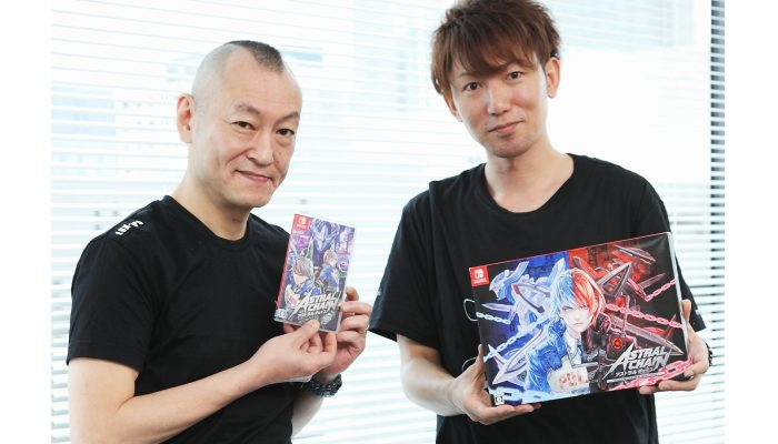 PlatinumGames: 'Special pre-launch interview featuring director Takahisa Taura and character designer Masakazu Katsura!'