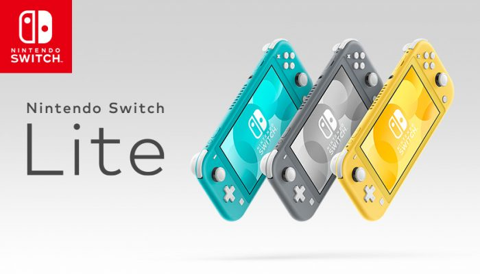 NoA: 'The Nintendo Switch family grows with today's launch of Nintendo Switch Lite'