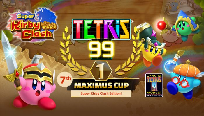 NoA: 'Play Tetris 99 to earn a Super Kirby Clash theme, plus Gem Apples for the Super Kirby Clash game!'