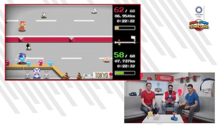 Nintendo Presents – Mario & Sonic aux Jeux Olympiques de Tokyo 2020 (gamescom 2019)