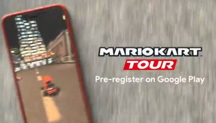 Mario Kart Tour available for pre-registration on smart devices