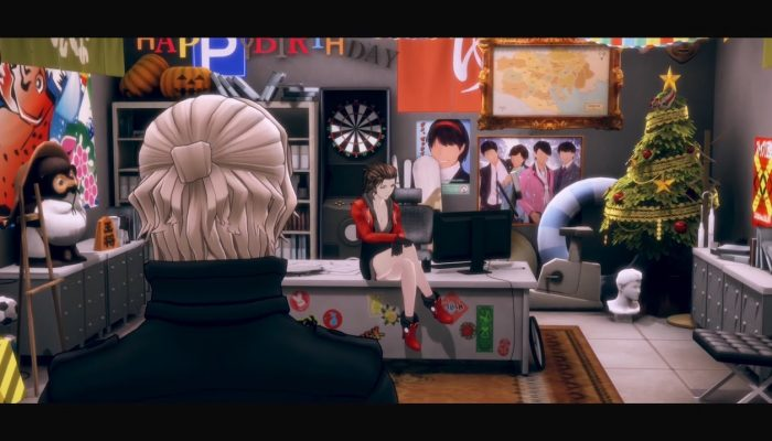 AI: The Somnium Files – Investigation Trailer