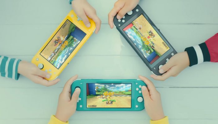 Nintendo Switch Lite – First Japanese TV Commercial
