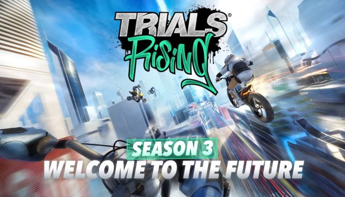 Trials Rising – Season 3: Welcome to the Future Trailer
