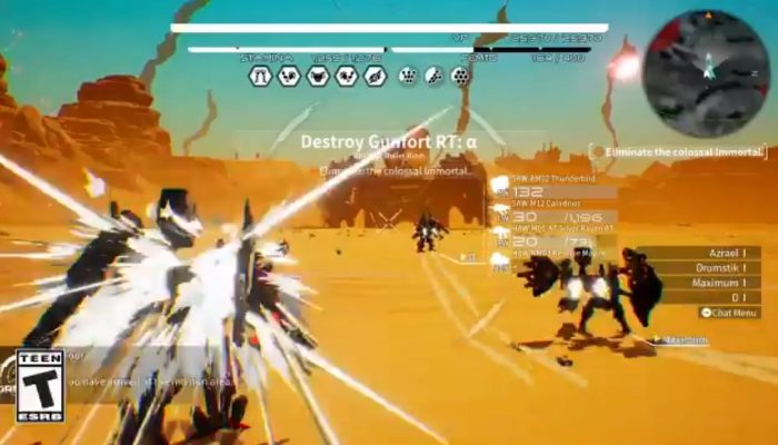 A glimpse at cooperative multiplayer in Daemon X Machina