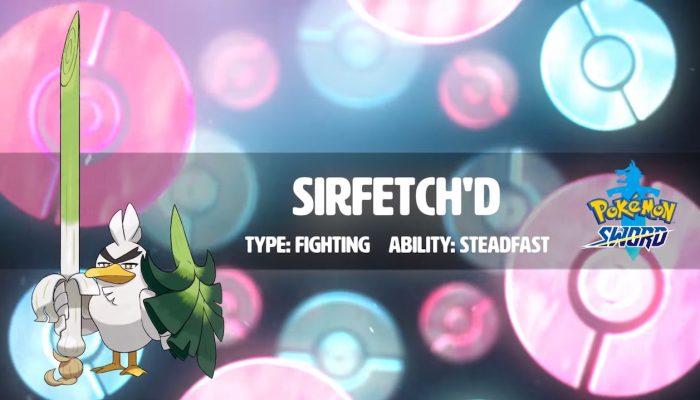 Pokémon Sword – Meet Sirfetch'd!
