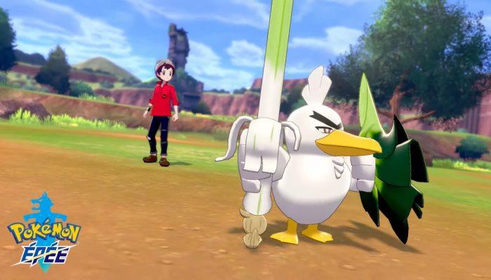 Pokémon Épée – Rencontrez Palarticho !