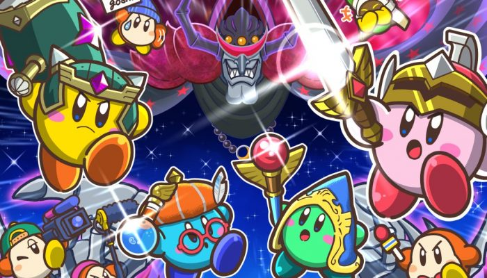 Super Kirby Clash developers celebrate the launch with a special illustration