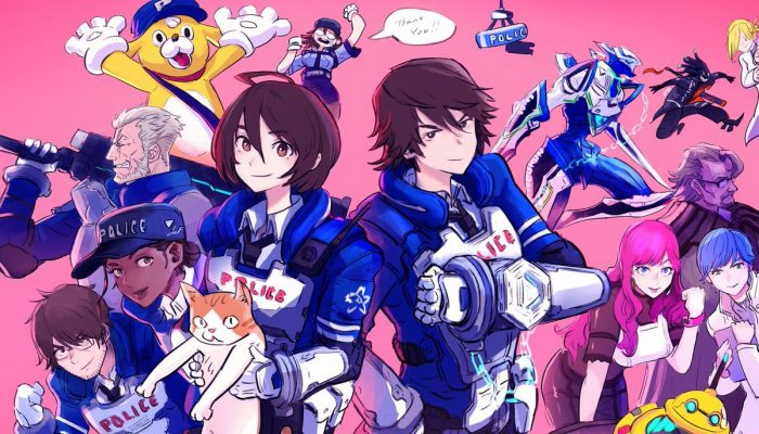 PlatinumGames celebrate the launch of Astral Chain with a cast illustration