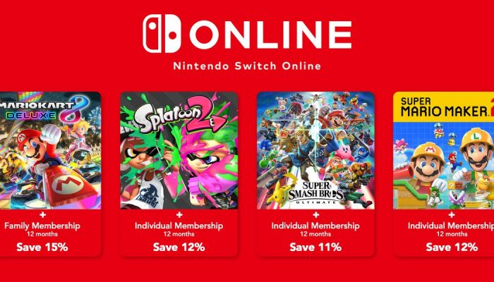 Nintendo of Europe now bundles online multiplayer top-sellers with Nintendo Switch Online