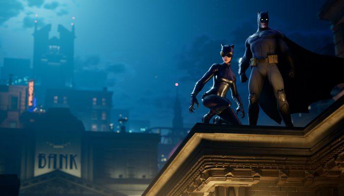 Fortnite: 'Batman Glides to Fortnite on Batman Day'