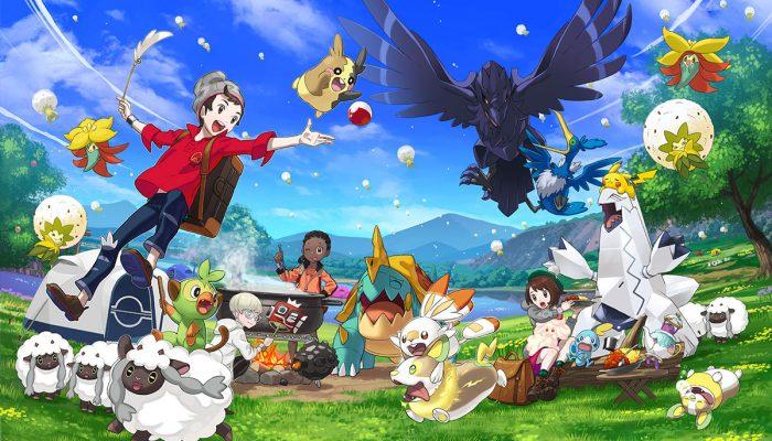 Pokémon Sword & Shield: 'Play with Pokémon in your Pokémon Camp'