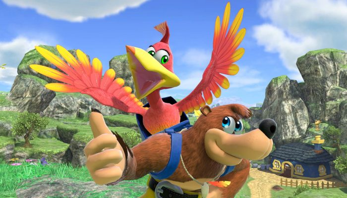 Super Smash Bros. Ultimate – Banjo-Kazooie DLC Fighter Screenshots