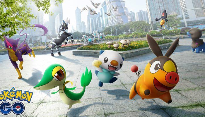 Niantic: 'The world of Pokémon Go expands with Pokémon originally discovered in the Unova region!'