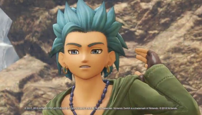 Take a quick look at your party members in Dragon Quest XI S