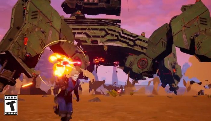 Show you skills on foot in Daemon X Machina