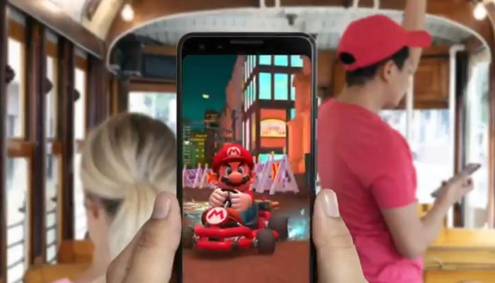 Google Play on the launch of Mario Kart Tour