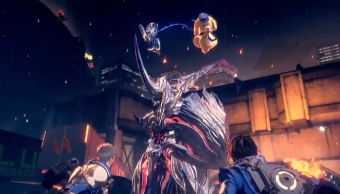 Check out the Lappy costume in full action in Astral Chain