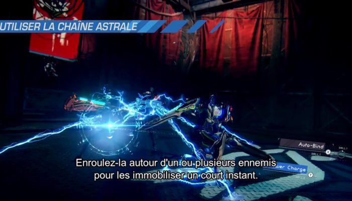 Astral Chain – Astuces de combat de Takahisa Taura