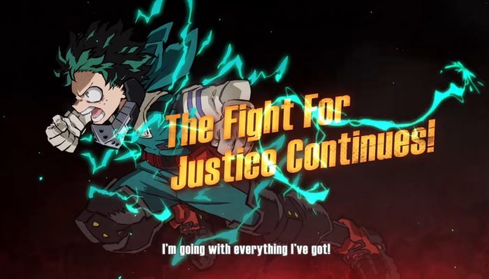 My Hero One's Justice 2 – Announcement Trailer