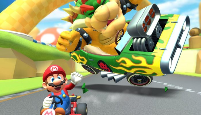 Race one-on-one against giant rivals in Mario Kart Tour