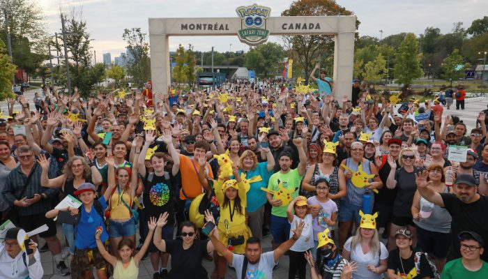 Niantic: 'Thank you for a wonderful Safari Zone Montreal, the first-ever Pokémon Go event in Canada!'