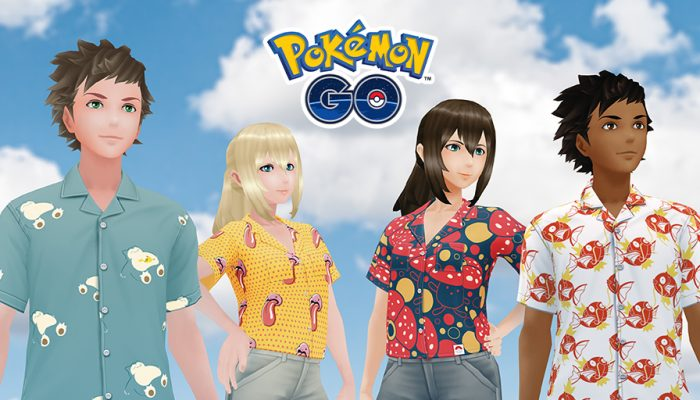 Niantic: 'Original Stitch's Pokémon Shirts come to Pokémon Go'