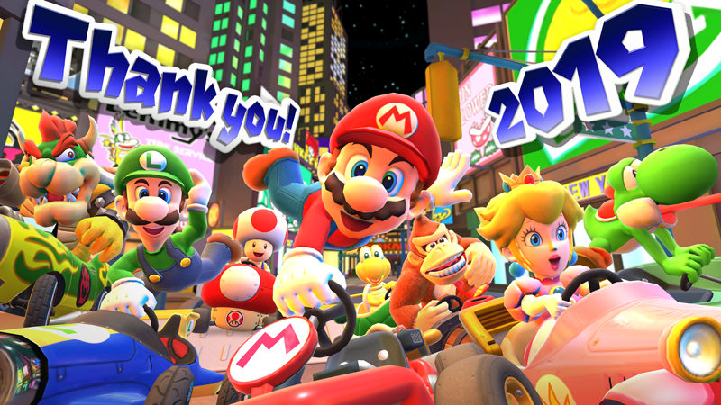 Mario Thanks You For Participating In The New Year S Tour In Mario